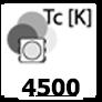 ca. 4500 Kelvin